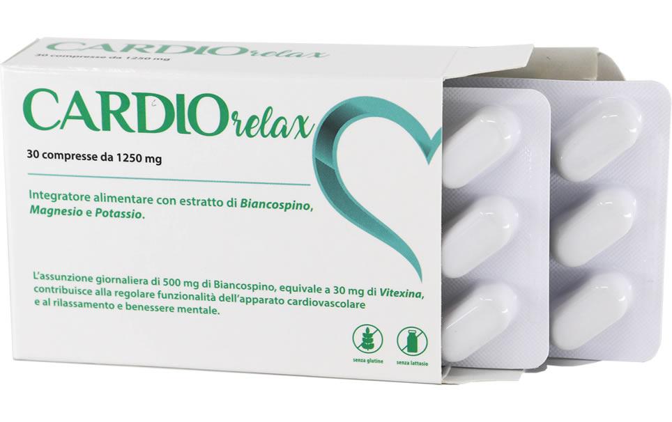 Cardio Relax 30 compresse da 1250 mg